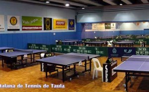 sala federació catalana de tennis taula Reina Elisenda