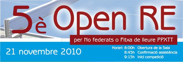 5è Open RE 10-11