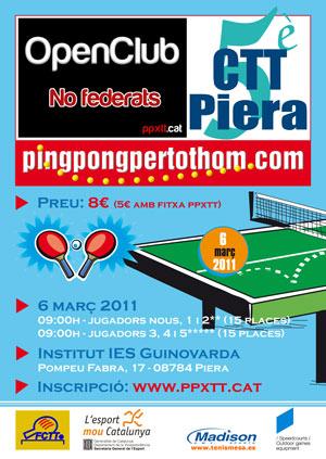 5è OpenClub al CTT Piera