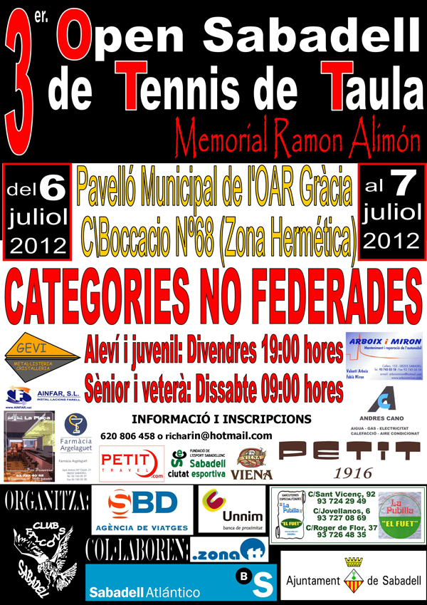 3r Open Sabadell