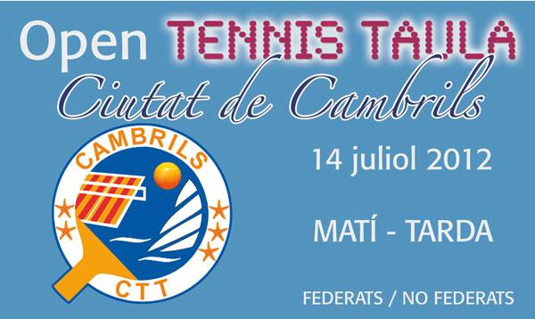 Open Cambrils - 14 juliol