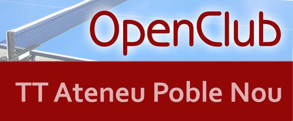 5è OpenClub TT Ateneu Poble Nou