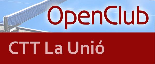 3er OpenClub CTT La Unió