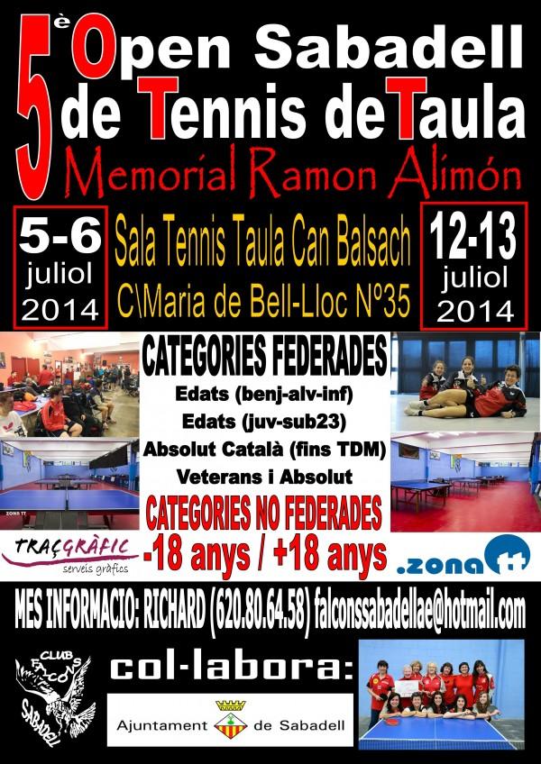 Cartell Open Sabadell