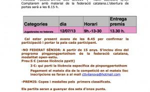 Carta campionat popular TT Vilanova 2015