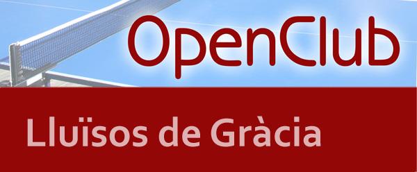 1er OpenClub Lluïsos de Gràcia