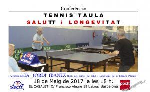 TT conferència salut i Longevitat