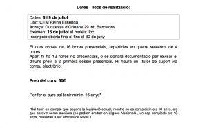 29C1617_CURS_ARBITRES-NIVELL1_REINA_ELISENDA