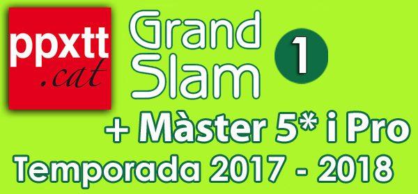 1er Grand-Slam + 1er Master 5* i PRO