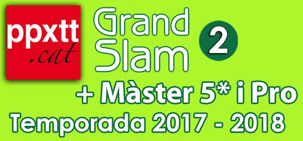 2on Grand-Slam + Master 5 i Pro