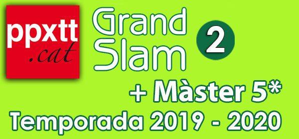 2n Grand Slam + Master 5* (Pertany a la temporada 2019/20 posposat degut a la pandèmia)